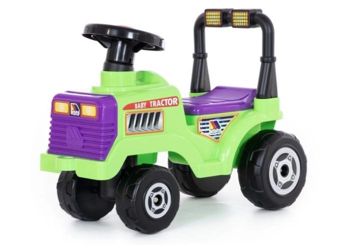 Каталка Molto Трактор Митя 2Трактор Митя 2Каталка Полесье Трактор Митя 2 привлечёт внимание любого мальчишки. Ни один малыш не откажется самостоятельно прокатиться на тракторе. Даже если он всего лишь игрушечный.   Особенности: Каталка имеет большие, быстро вращающиеся колёса, удобный поворачивающийся руль, а также широкое сиденье и ручку-толкатель. Если Ваш ребёнок ещё не может самостоятельно отталкиваться ножками от пола, то Вы можете покатать его сами, управляя трактором с помощью ручки, которая располагается позади сиденья. Ноги малыша в это время будут находиться на специальной подставке.  Каталка выполнена из высококачественно и очень прочного пластика.  Размер игрушки: 61 х 29 х 44 см<br>