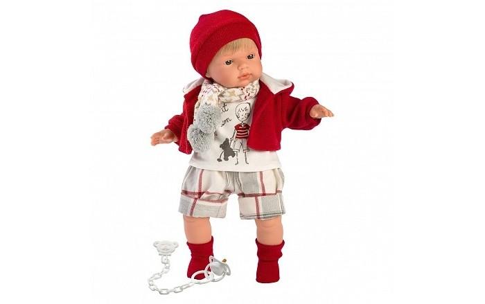 Купить Куклы и одежда для кукол, Llorens Кукла Саша 38 см со звуком