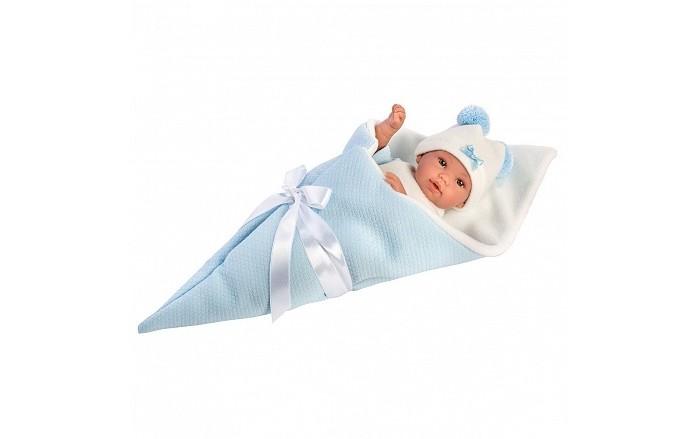 Llorens Кукла в голубом конверте 36 см