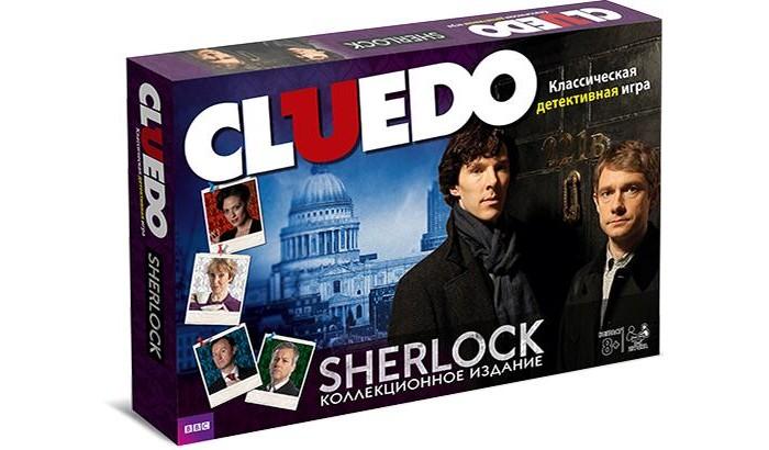 Hasbro Gaming Настольная игра Cluedo Шерлок
