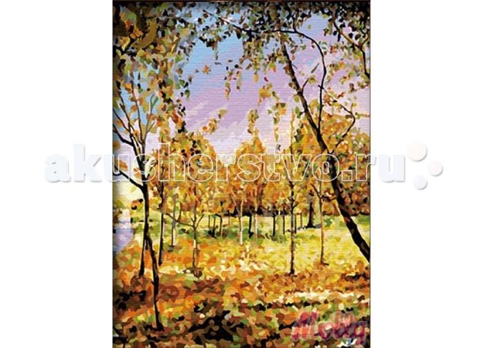 Картины по номерам Molly Картина по номерам В осенних тонах 40х50 см molly мозаичная картина зеленая долина 40х50 см