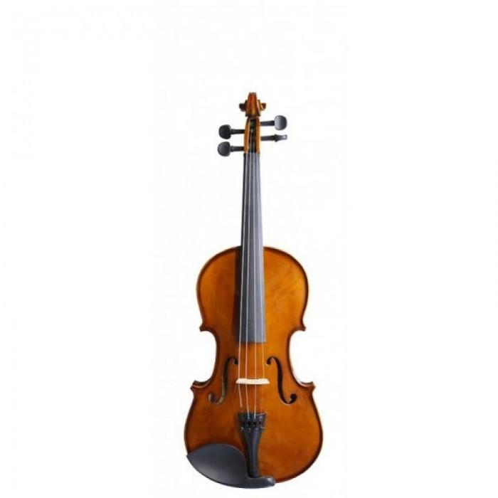 Музыкальный инструмент Flight Скрипка 1/2 отделка classic ученическая модель