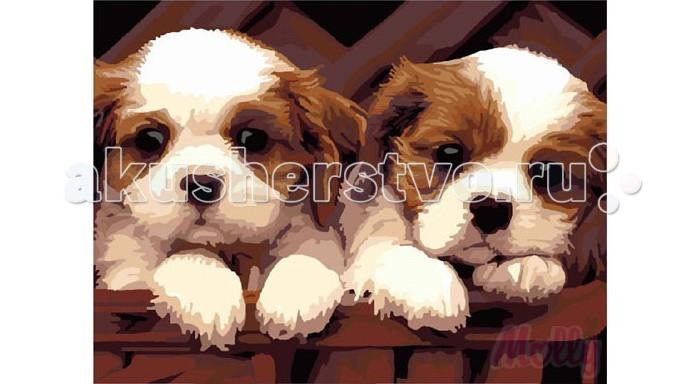 Картины по номерам Molly Картина по номерам Симпатичные друзья 40х50 см molly мозаичная картина зеленая долина 40х50 см