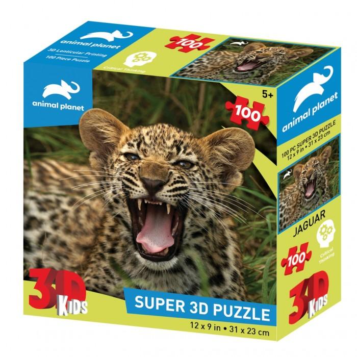 Пазлы Prime 3D Стерео пазл Маленький ягуар