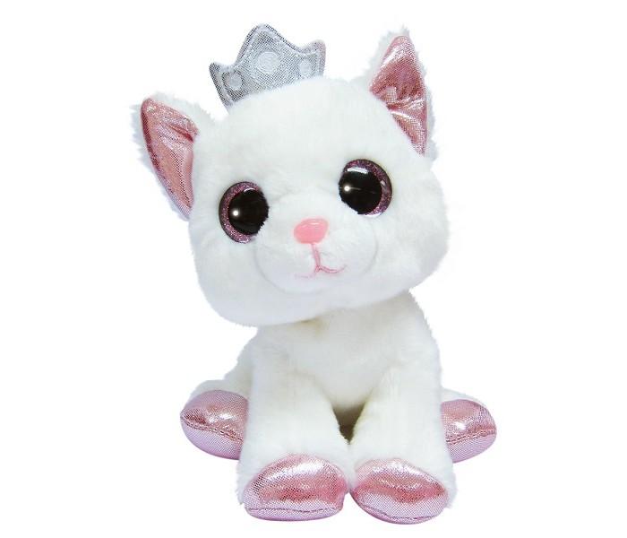 Купить Мягкие игрушки, Мягкая игрушка Aurora Кошечка 20 см