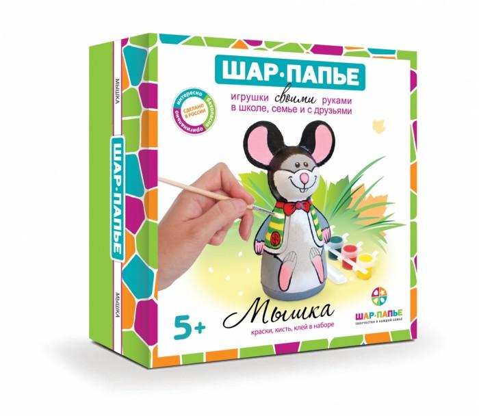 Картинка для Заготовки под роспись Шар-папье Набор для творчества Мышка