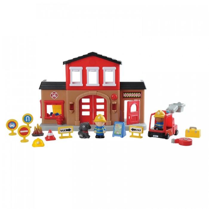 Купить Игровые наборы, Playgo Игровой набор Пожарная станция Play 9844