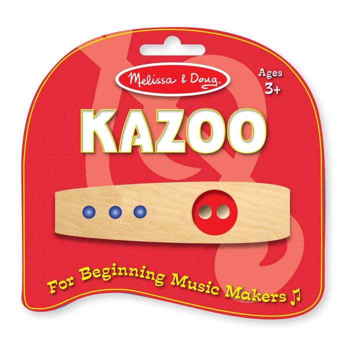 Деревянные игрушки Melissa Doug Трещетка Kazoo