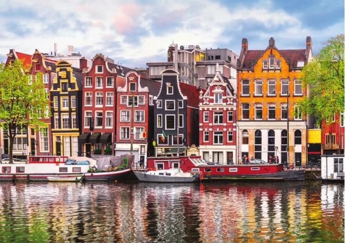 Фото - Пазлы Educa Пазл Танцующие дома Амстердам 1000 деталей конструтор стакадуз 68 деталей