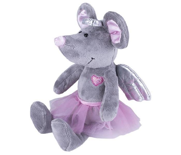 Картинка для Мягкая игрушка SofToy Мышь с ангельскими крылышками 26 см