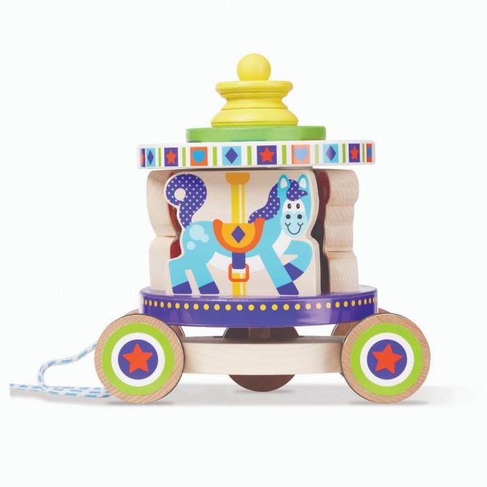 Каталка-игрушка Melissa & Doug Первые навыки Карусель фото