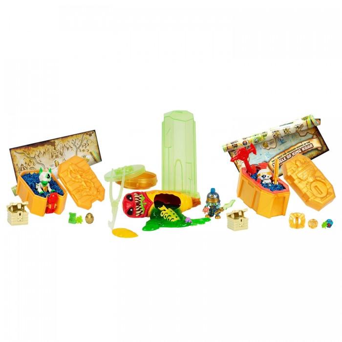 Игровые наборы Treasure X Мега-набор Пришельцы против королей