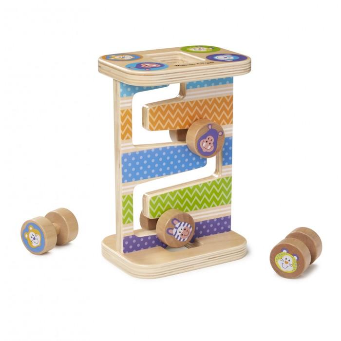 Купить Деревянная игрушка Melissa & Doug Первые навыки Зиг-Заг башня с 4 роликами в интернет магазине. Цены, фото, описания, характеристики, отзывы, обзоры
