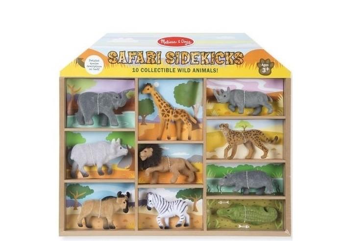 Игровые фигурки Melissa Doug Классические игрушки Фигурки животных Сафари фигурки melissa