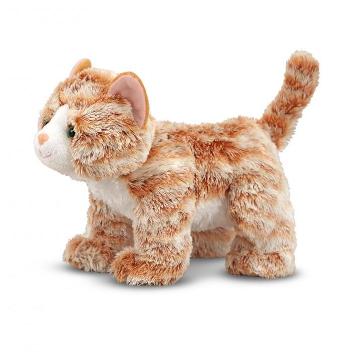 Мягкая игрушка Melissa & Doug Полосатая кошка 25 см