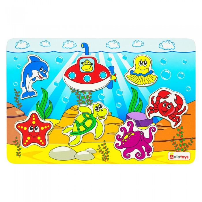 Картинка для Деревянная игрушка Alatoys Пазл Океан