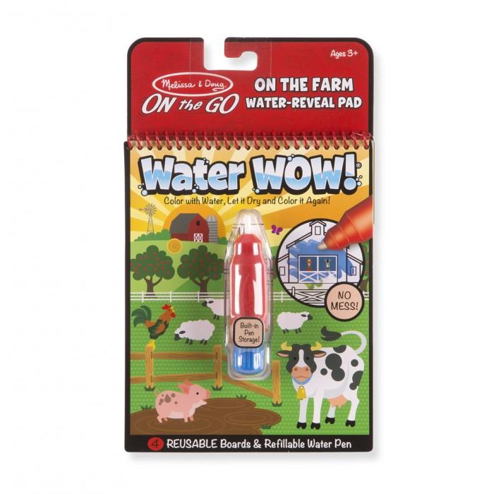 Купить Раскраски, Раскраска Melissa & Doug Творчество рисуем водой Ферма