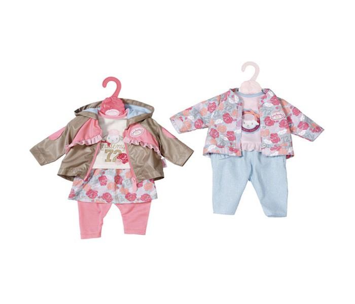Куклы и одежда для кукол Zapf Creation Baby Annabell Одежда для прогулки 701-973