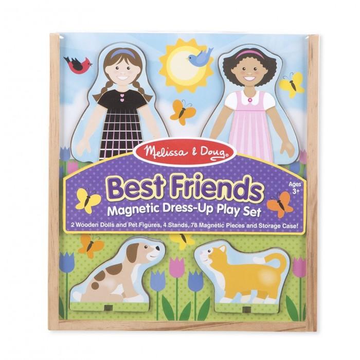 Купить Деревянные игрушки, Деревянная игрушка Melissa & Doug Магнитные игры Одень лучших друзей