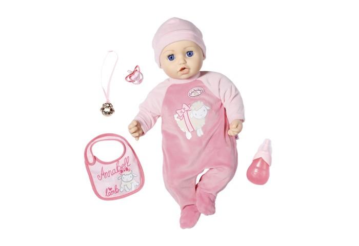Куклы и одежда для кукол Zapf Creation Baby Annabell Кукла многофункциональная 43 см 702-628 недорого