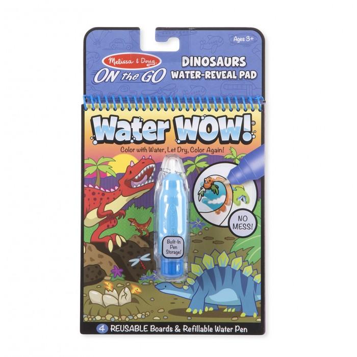 Раскраски Melissa & Doug Творчество Рисуем водой Динозавры