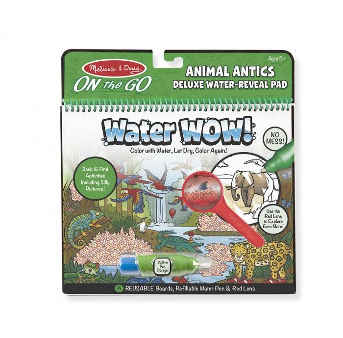 Раскраски Melissa & Doug Творчество Рисуем водой Животные Делюкс