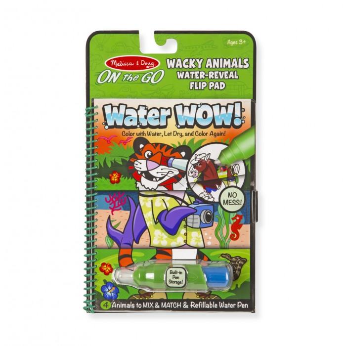 Купить Раскраски, Раскраска Melissa & Doug Творчество Рисуем водой Животные