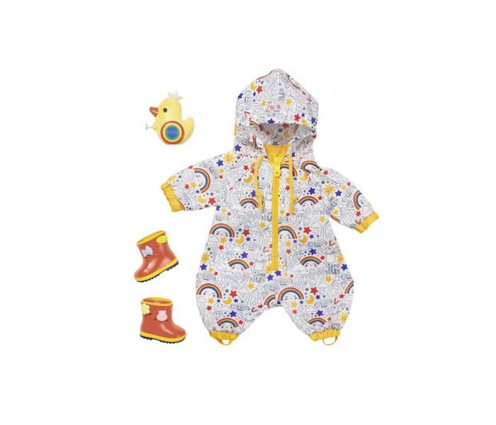 Куклы и одежда для кукол Zapf Creation Baby born Одежда Осенний комбинезон с сапогами Делюкс