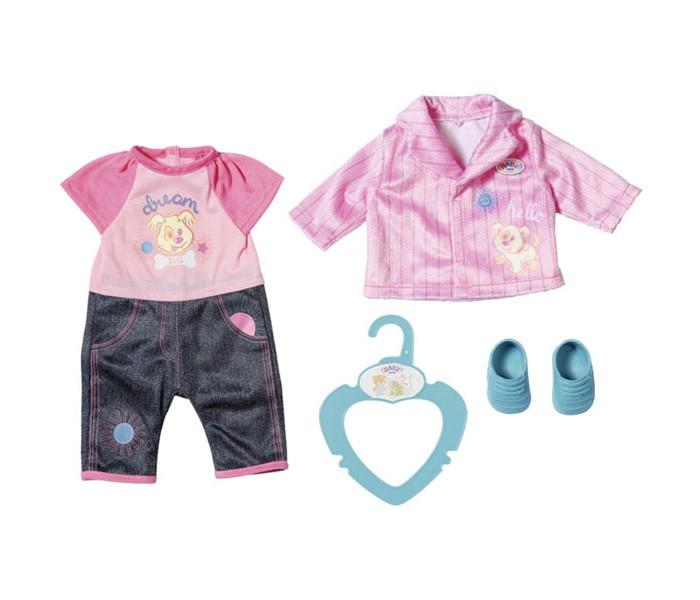 Куклы и одежда для кукол Zapf Creation My Little Baby born Одежда для детского сада 36 см zapf creation baby born 827 369 бэби борн my little baby born одежда для детского сада 36 см