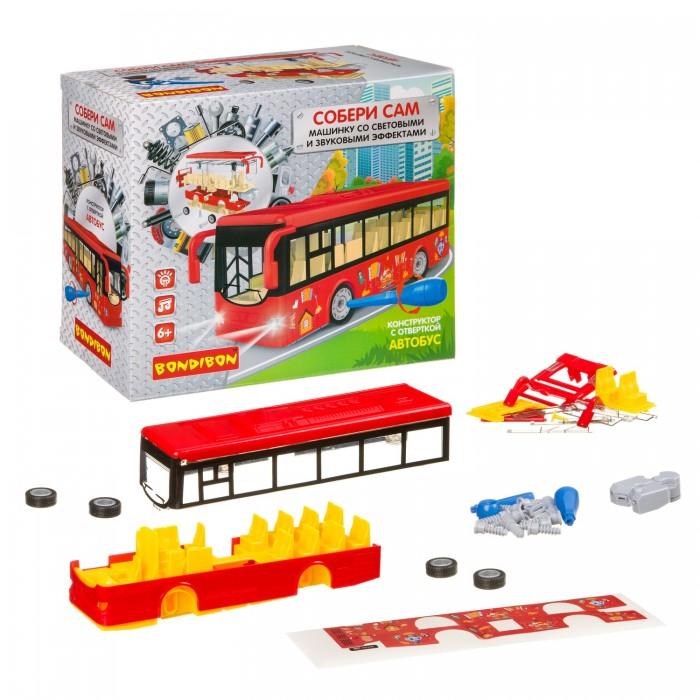Купить Сборные модели, Bondibon с отверткой Собирай и Играй Автобус (40 деталей)