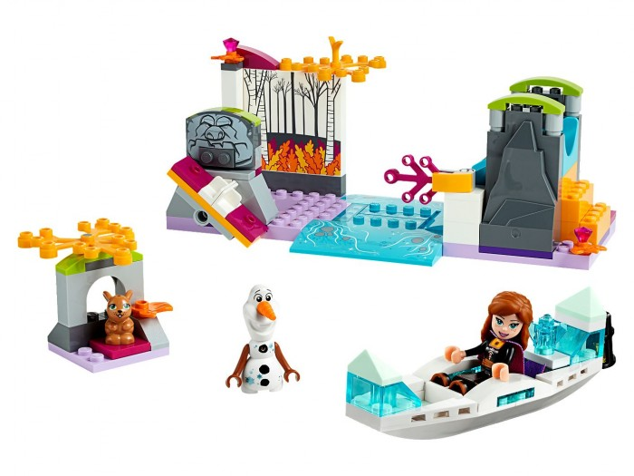 Lego Lego Disney Princess 41165 Экспедиция Анны на каноэ конструктор lego disney princess frozen ii деревня в эренделле 521 дет 41167