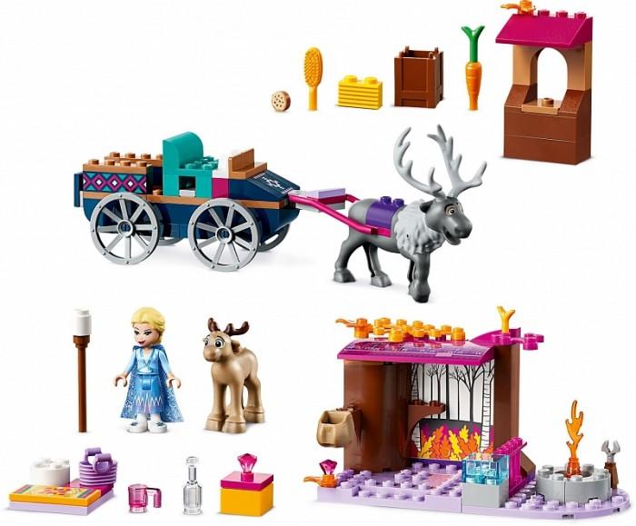 Конструктор Lego Disney Princess 41166 Дорожные приключения Эльзы