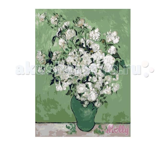 Картины по номерам Molly Картина по номерам Белый букет 40х50 см molly мозаичная картина зеленая долина 40х50 см