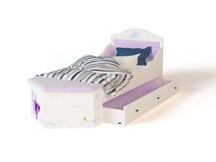 Аксессуары для мебели ABC-King Выкатной ящик Pirates под кровать классику 150х90 см или диван 160x90 см