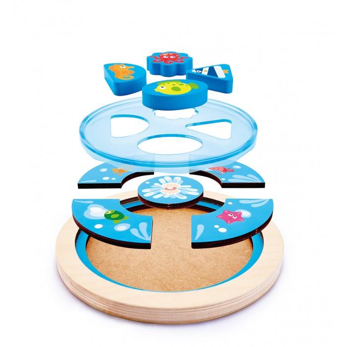 Деревянные игрушки Hape Пазл Море