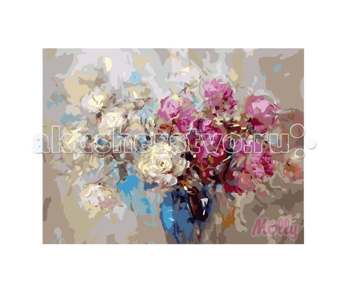 Картины по номерам Molly Картина по номерам Подарок флориста 40х50 см, Картины по номерам - артикул:79154