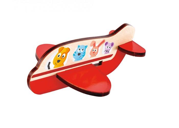 Деревянные игрушки Hape Пазл 3D Самолет