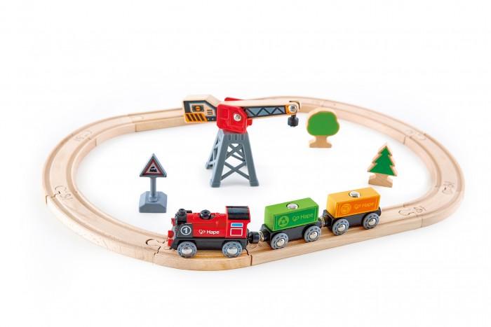 Железные дороги Hape Деревянная Железная дорога