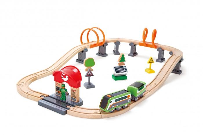 Железные дороги Hape Железная дорога с солнечной панелью