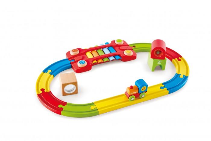 Купить Железные дороги, Hape Разноцветная Железная Дорога