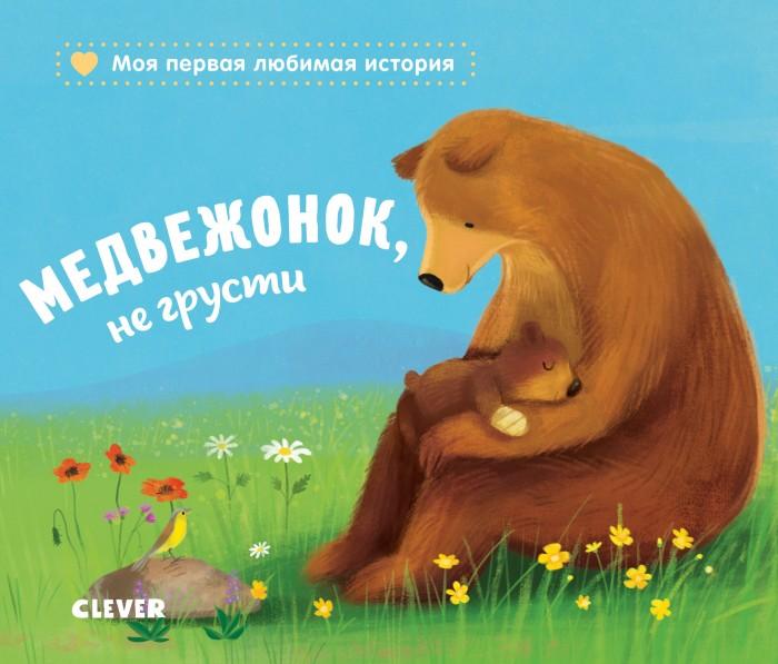 Книжки-картонки Clever Медвежонок, не грусти