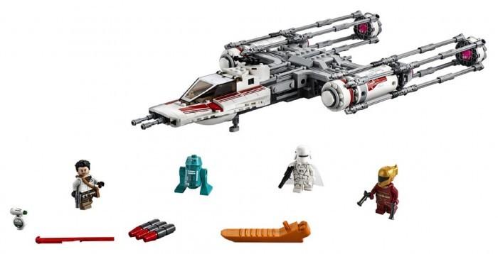 Конструктор Lego Star Wars 75249 Звездные Войны Звёздный истребитель Повстанцев типа Y