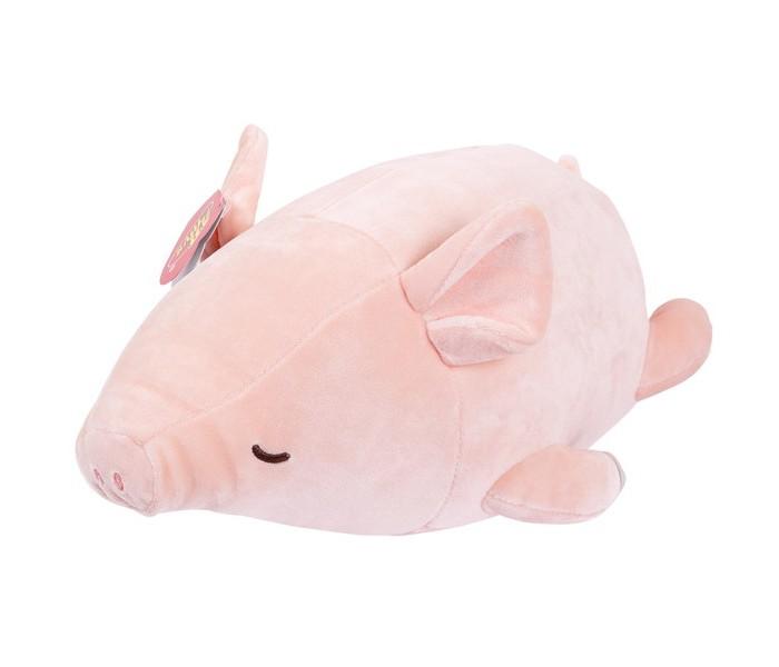 Купить Мягкие игрушки, Мягкая игрушка ABtoys Свинка 27 см