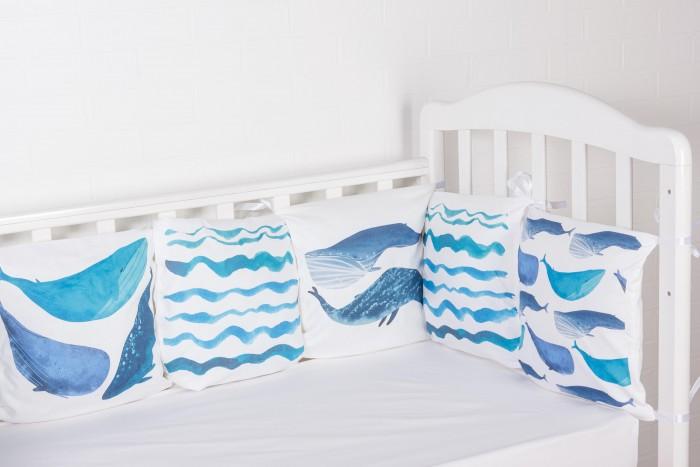 Бортик в кроватку Forest Cute Whale