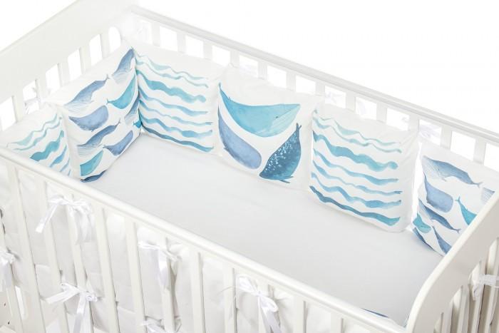 Комплект в кроватку Forest Cute Whale (13 предметов) фото