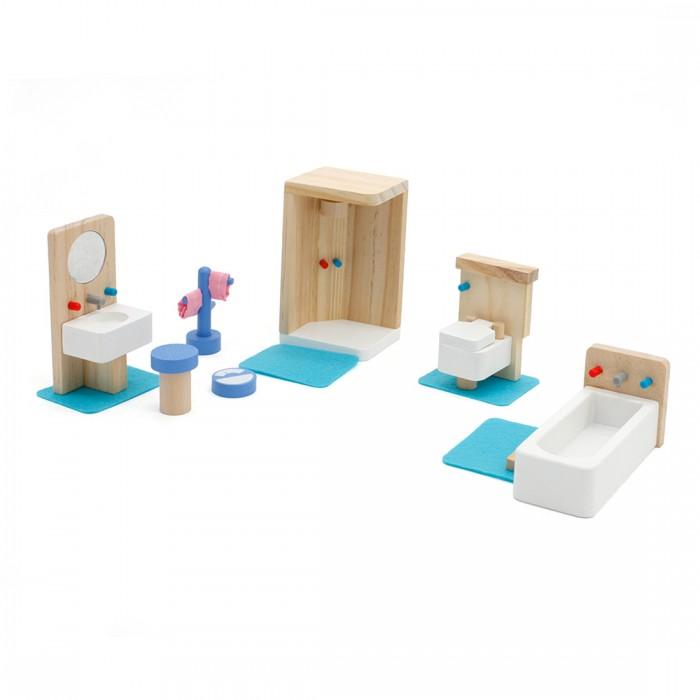 Кукольные домики и мебель Lanaland Игровой набор Ванная комната