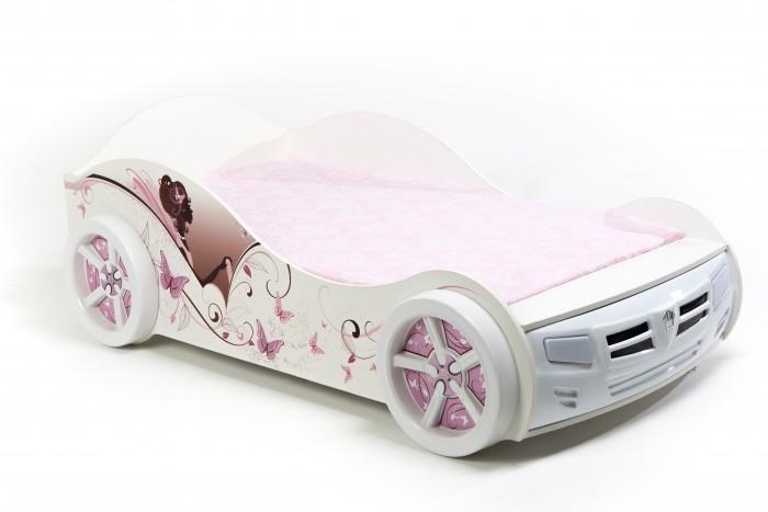 Подростковая кровать ABC-King машина Фея 160x90 см