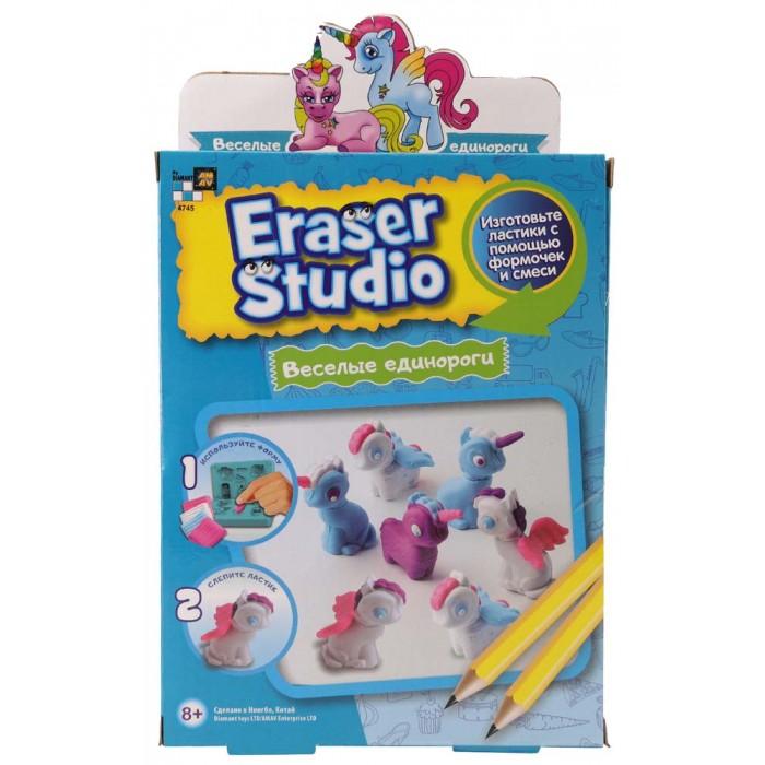 Купить Наборы для творчества, Diamant Toys Набор для изготовления ластиков Веселые единороги