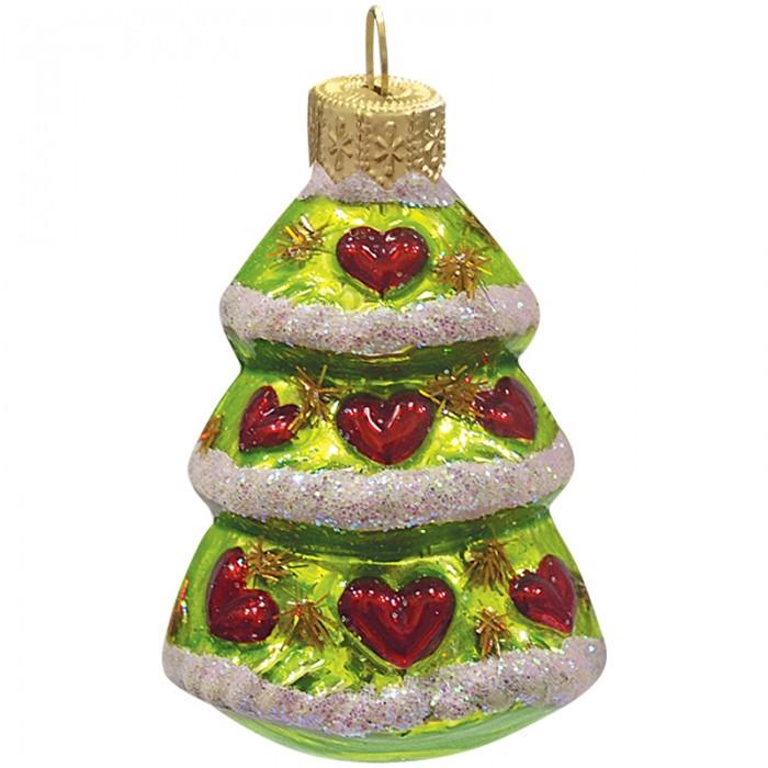 Елочные игрушки Батик Елочное украшение Елочка рождественская 7 см новогоднее украшение monte christmas елочка 30 15 60 см