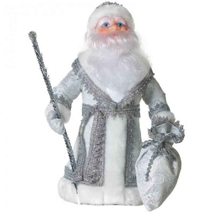 Новогодние украшения Батик Декоративная кукла Дед Мороз под елку 40 см